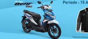 Promo Spesial dari Honda untuk Motor Beat eSP