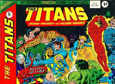 Marvel UK, The Titans #43, The Fantastic Four vs everyone