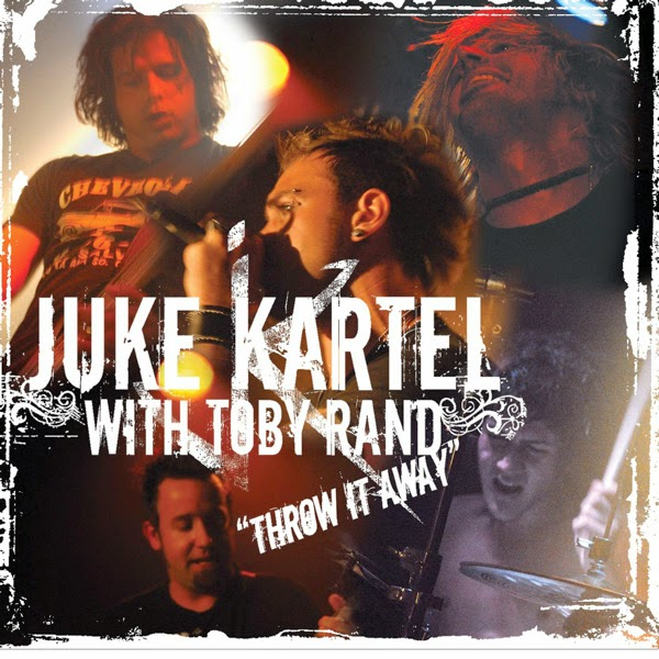 Juke Kartel with Toby Rand - Throw It Away - Single Cover