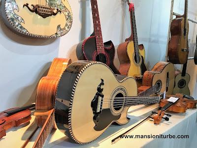 Instrumentos Músicales de Paracho Michoacán