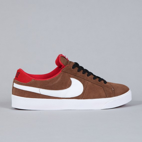 new style 8e1c2 1a0ad In a skating world where vulcanized and cup soles are the chocolate and  vanilla of sneaker bottoms, the Nike SB Blazer CS Low is the delicious   twist .