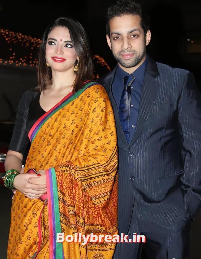 Raghav Sachar and Wedding Reception, Raghav Sachar, Amita Pathak Wedding Reception Pics