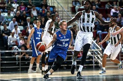 FIBA Champions League Sakarya BŞB - Fribourg Olmypic