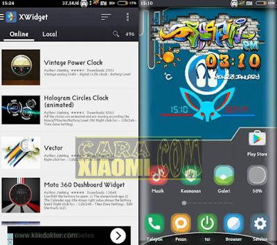 download Widget Kustomisasi Terbaik XWidget Apk Pro