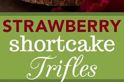 Recipe - Strawberry Shortcake Trifles