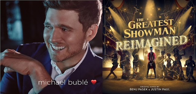 """??"", de Michael Bublé, e ""The Greatest Showman – Reimagined"" são destaques da Billboard 200"