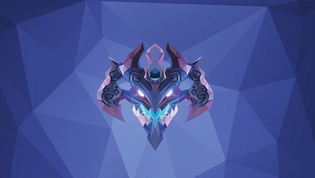 the lowpoly project visage dota 2 low poly art