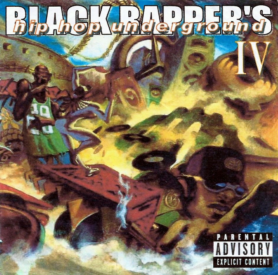 BLACK RAPPRS VOLUME IV