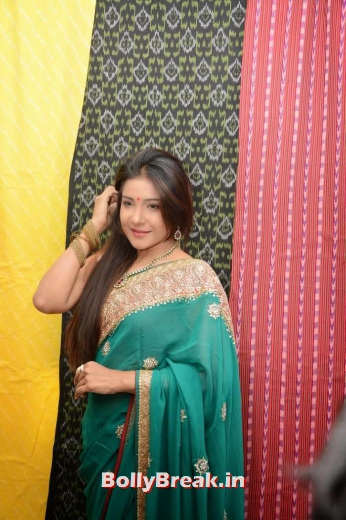Sakshi Agarwal Photo Gallery, Sakshi Agarwal Hot Hd mages in Green Saree