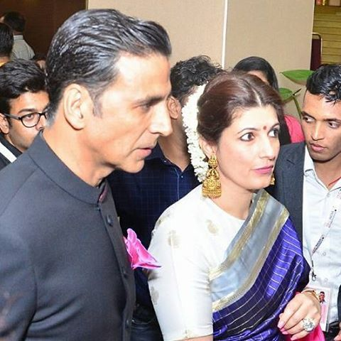 Akshay Kumar and Twinkle Khanna at National Film Awards