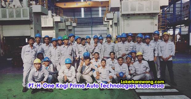 Lowongan Kerja PT. H-One Kogi Prima Auto Technologies Indonesia (HK-Pati) Karawang