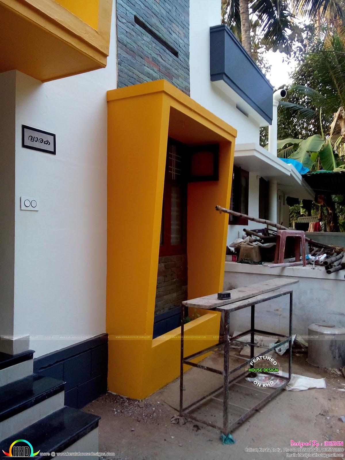 U20b910 Lakhs Costed Renovated House Kerala Home