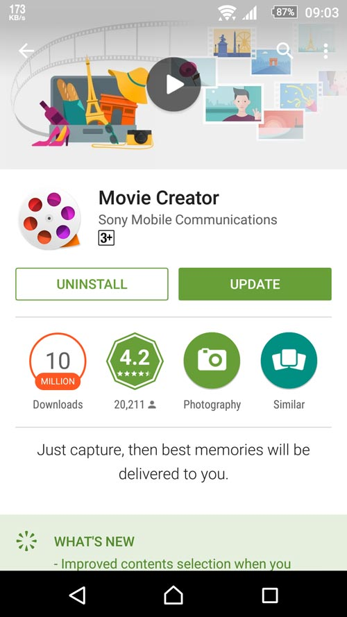 Movie Creator 3.4.A.0.3