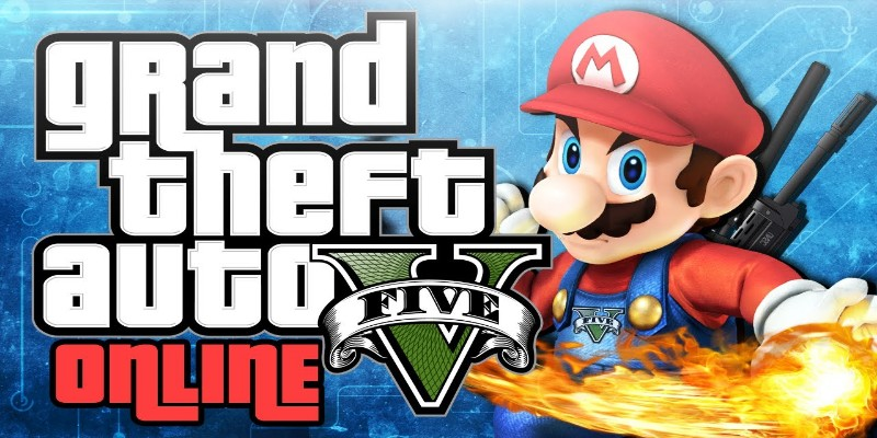 Super Mario And GTA That is sweeping in Internet