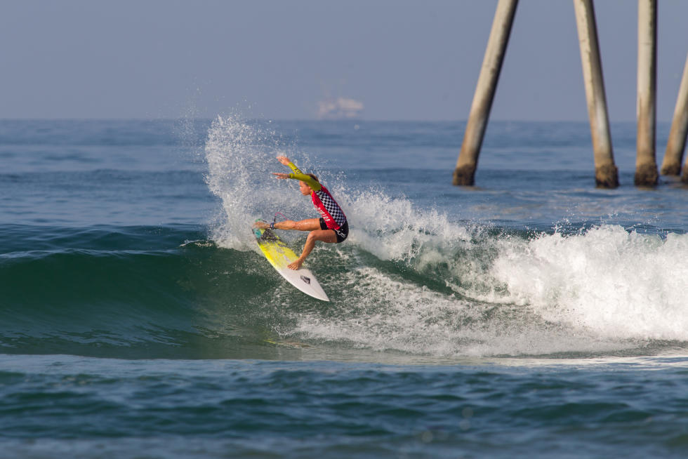 9 Keely Andrew Vans US Open of Surfing foto Sean Rowland WSL