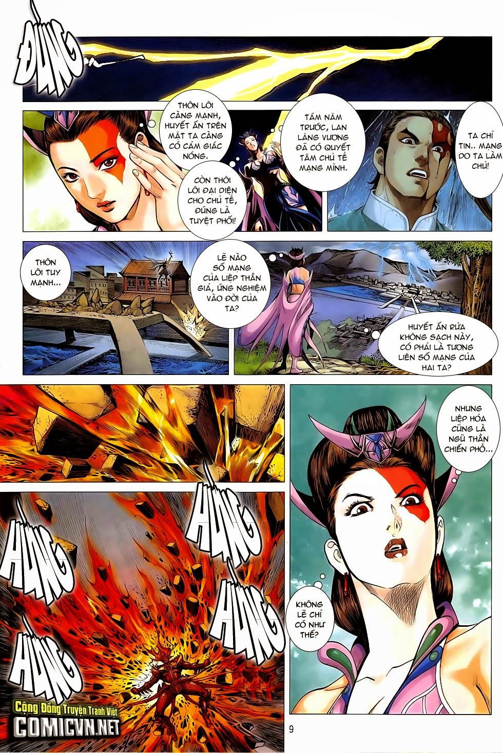 Chiến Phổ chapter 5: lôi hỏa kinh thiên chiến trang 9
