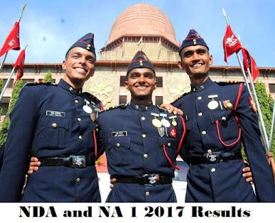 NDA and NA 1 2017 Results and Cutoff Marks