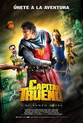 Póste de Capitán Trueno y el santo grial