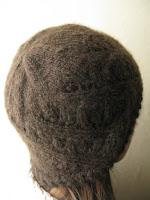 lace hat knitting pattern handspun yak down