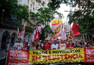 ESQUERDOPATIA - Fórum das Resistências inicia em Porto Alegre