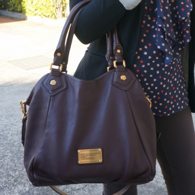 Away From The Blue | Marc by Marc Jacobs Carob Brown Fran Bag