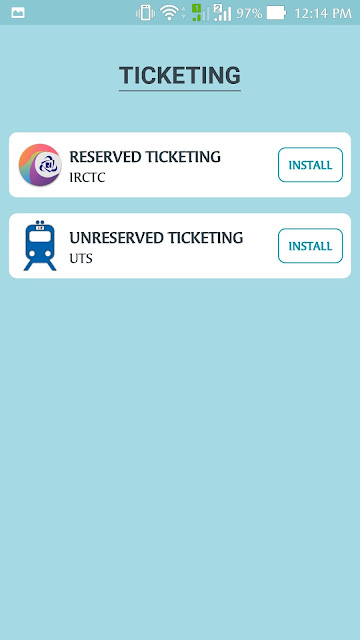 unreserved ticketing option