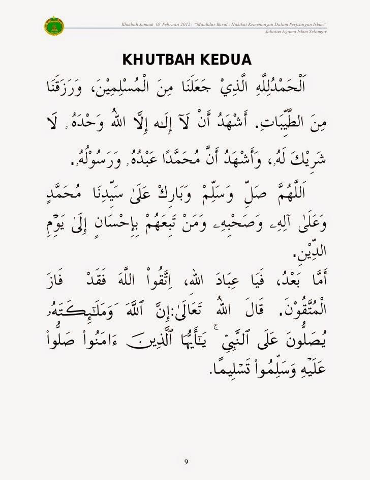 2015 khutbah jumat pdf