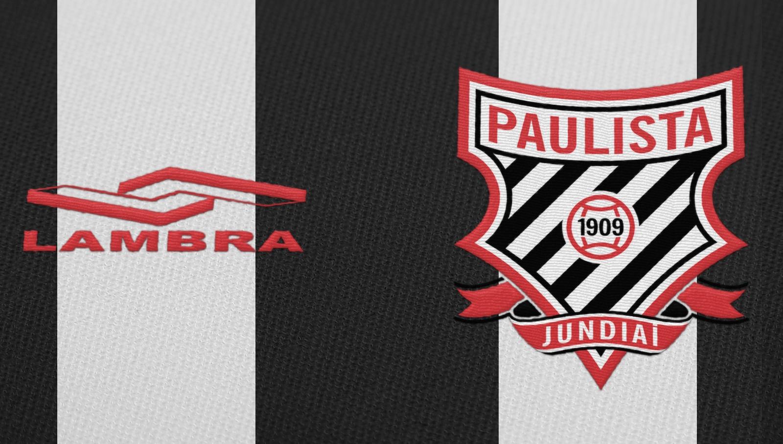 ae1c14c202 Lambra é a nova fornecedora esportiva do Paulista de Jundiaí - Show ...