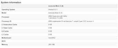 Moto G4 sertifikasi FCC