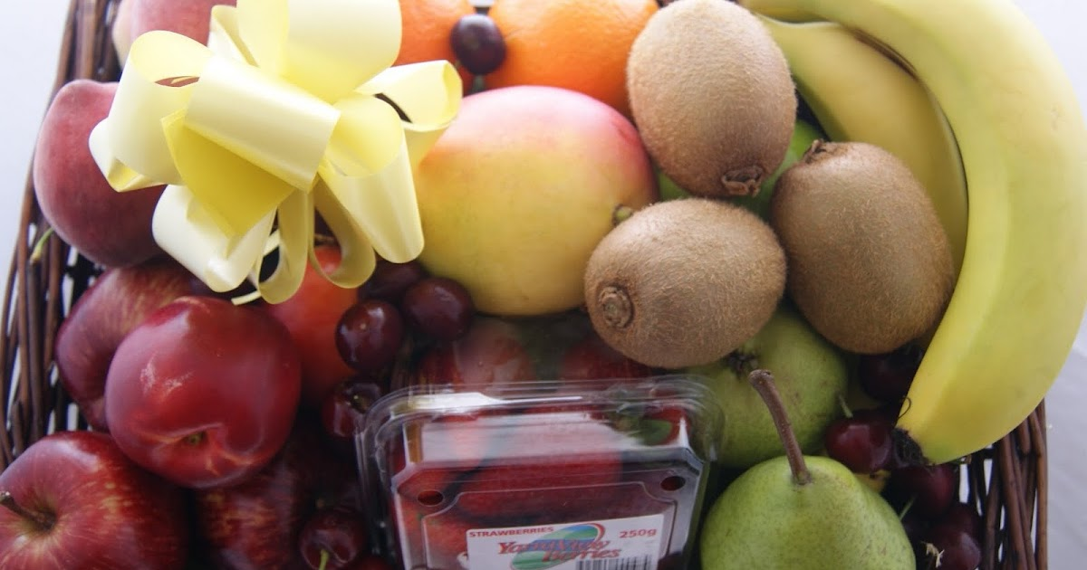 Gourmet Hampers Australia Happy Christmas Fruit Baskets