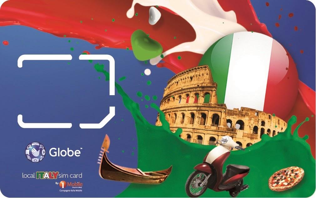 Globe Italy Simcard