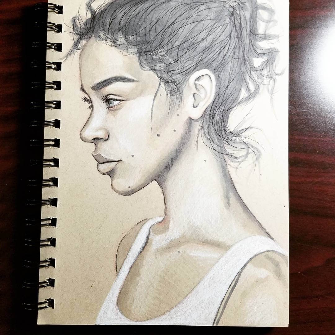 10-Jordan-Rhodes-Strong-and-Relaxed-Expressions-in-Portrait-Drawings-www-designstack-co