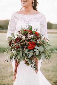 bridal bouquet by Janice East