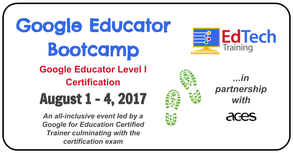 Little Bytes Google Educator Bootcamp August 1 4 2017 Hamden Ct