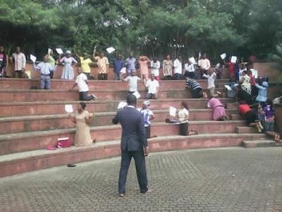 PHOTOS: Akwa Ibom Workers Embark On Fasting And Prayers Over Unpaid Salaries