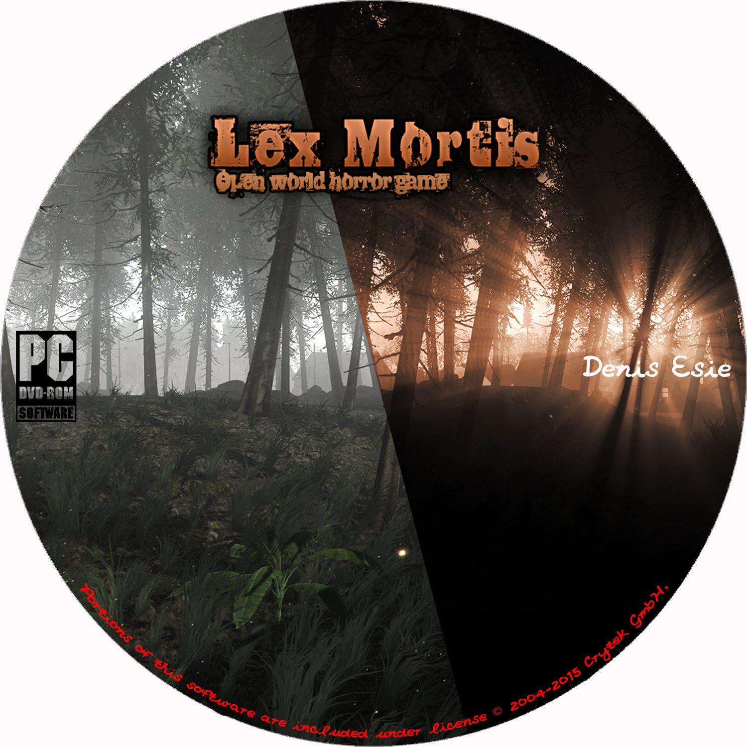 Label Lex Mortis Open World Horror Game PC