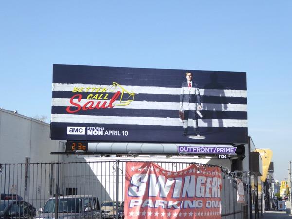 Better Call Saul season 3 billboard