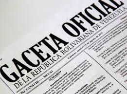 """Gaceta oficial Nº  41113 """"Exoneración de: el pago del IVA, Impuesto de importación y tasa del régimen aduanero"""""""