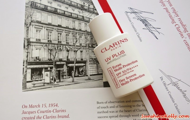 New! Clarins UV Plus Anti-Pollution SPF50 PA++++, Beauty Review, Sunscreen, Clarins, Clarins Malaysia