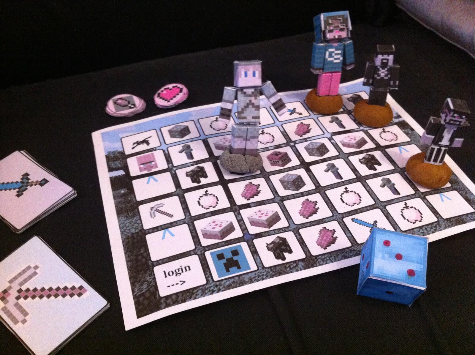 interesting minecraft board game - photo #10