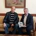 Στην Ξάνθη ο Αντώνης Αντωνιάδης - Επισκέφθηκε τον Δήμαρχο και του χάρισε το βιβλίο του!