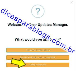 Plugin de atualização Automaticas do wordpress