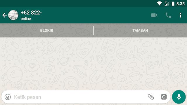 Cara Mengirim Pesan WhatsApp tanpa menyimpan Nomor Penerima