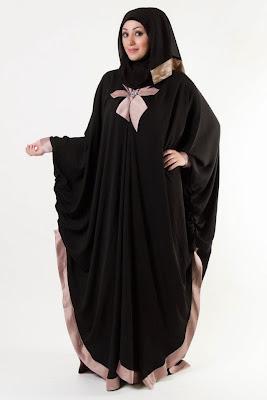 Model Baju Muslim Wanita Gemuk Pendek