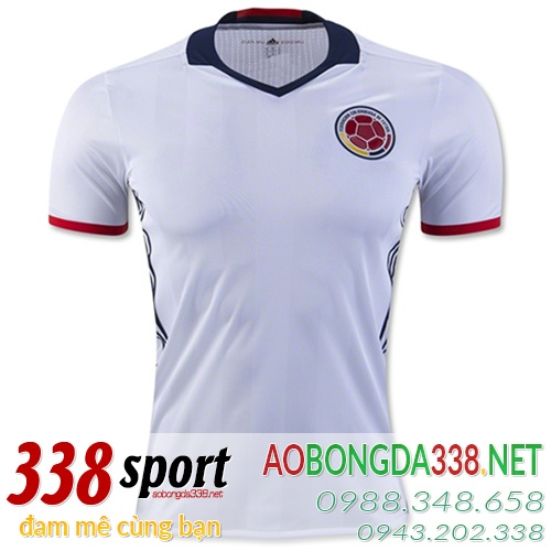 áo đội tuyển colombia sân nhà 2016