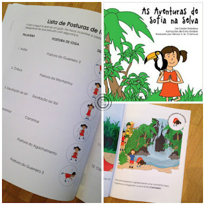 As aventuras de Sofia na Selva: yoga for kids