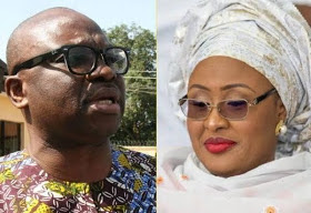 Aisha Buhari Vs Fayose's war gets messier, takes a new turn