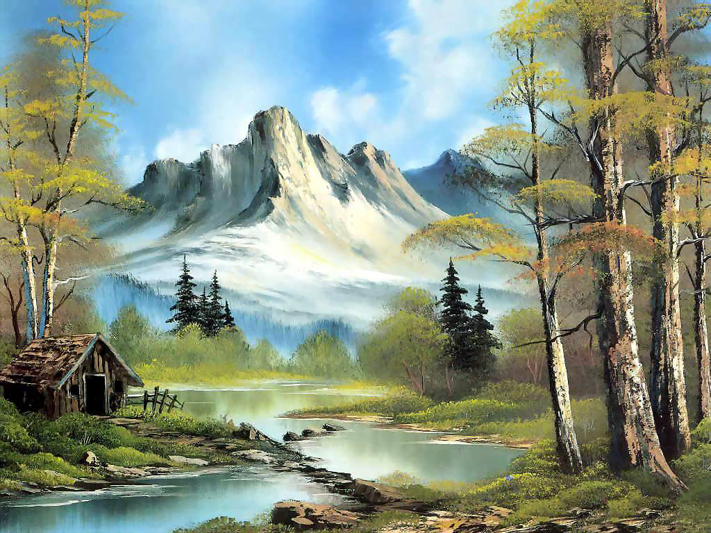 HD Wallpapers Fine Painting Nature 3d Nature High