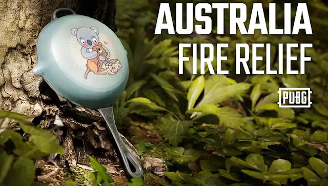 PUBG, Avustralya Yangını İçin pan kaplaması ile Yardım Edilecek!