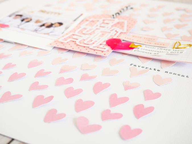 Paige Evans + Silhouette Beautiful Wonky Hearts by Jamie Pate | @jamiepate